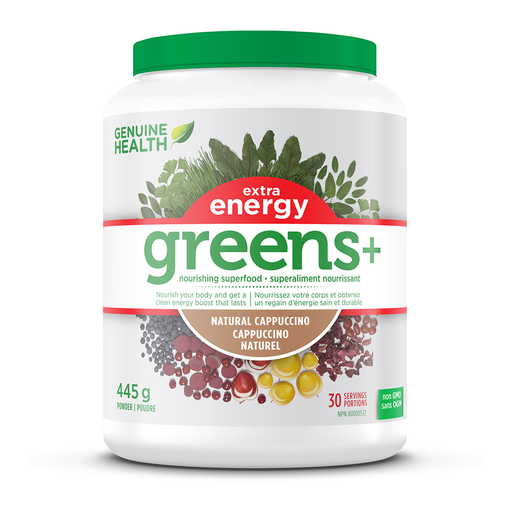 : Greens+ Extra Energy - Cappuccino