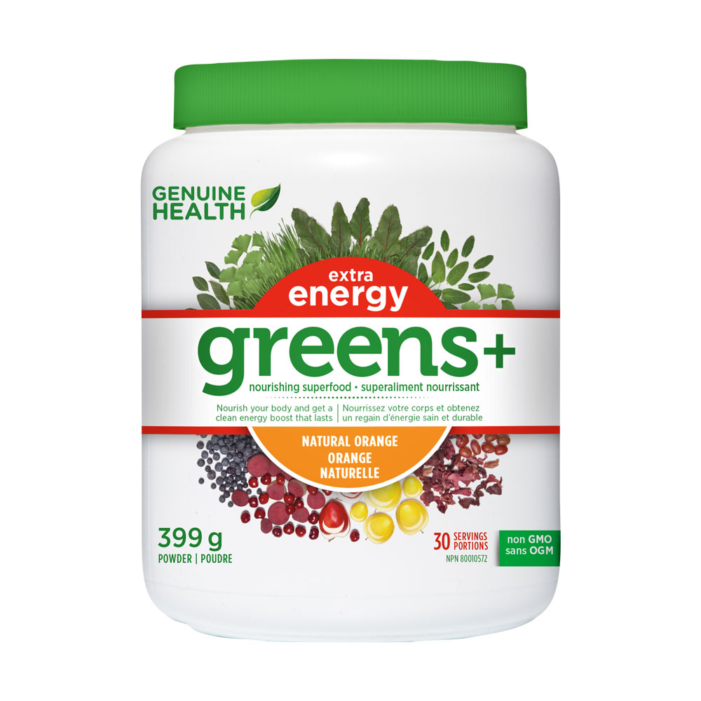 : Greens+ Extra Energy - Natural Orange