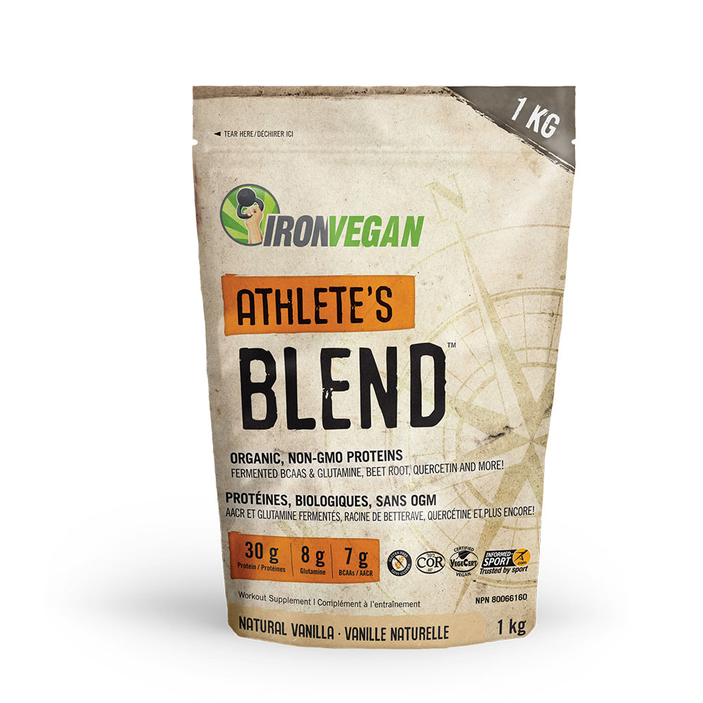 : Iron Vegan Athletes Blend, Vanilla