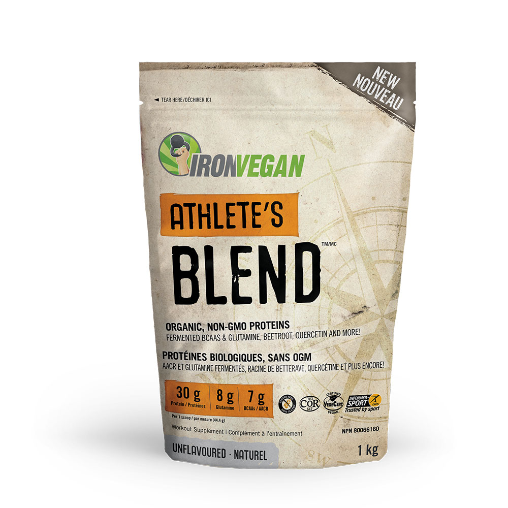 : Iron Vegan Athletes Blend, Unflavoured