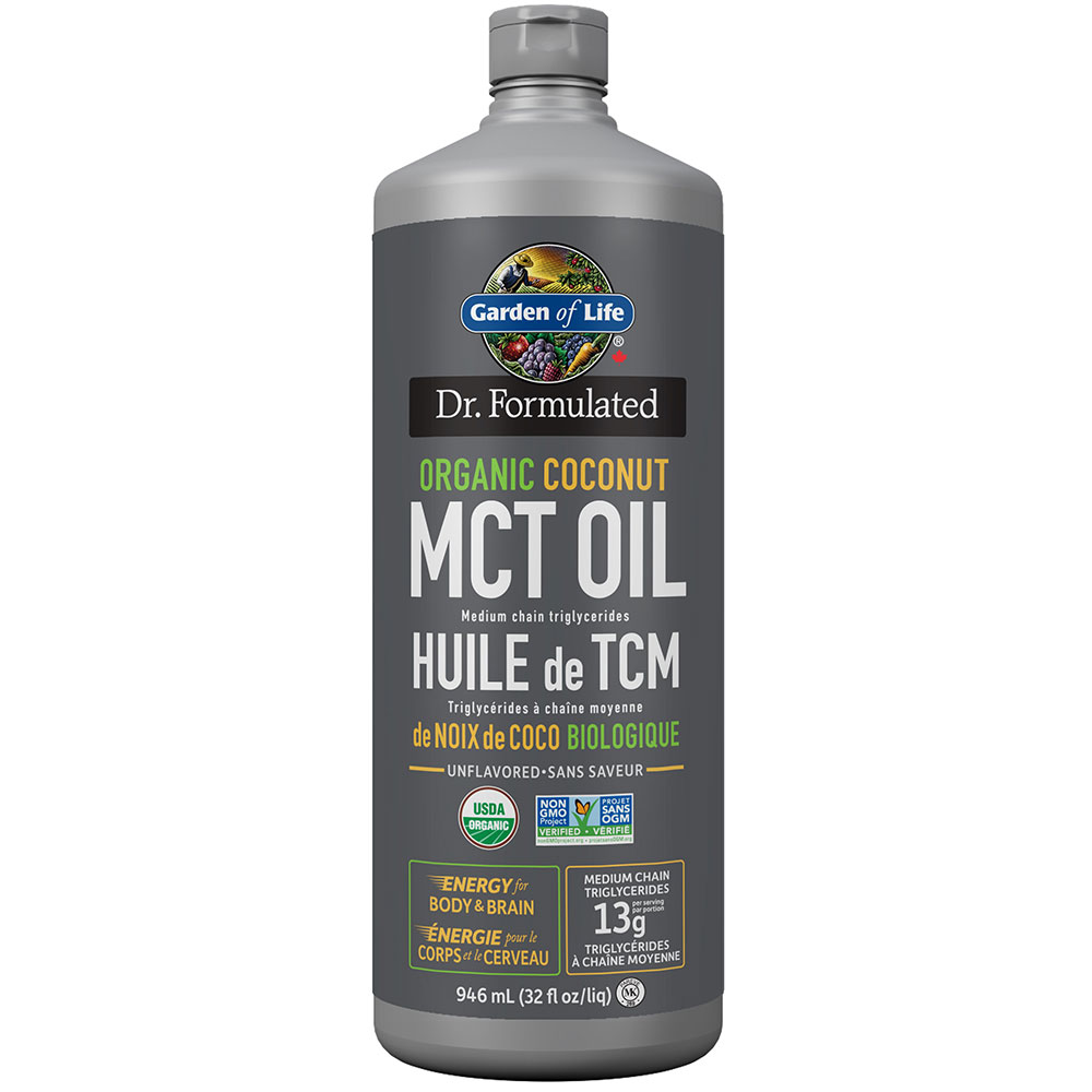 : Garden of Life Dr. Formulated Organic MCT Oil 946ml
